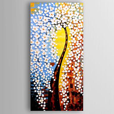 Handgemalte Blumenmuster/BotanischModern Ein Panel Leinwand Hang-Ölgemälde For Haus Dekoration