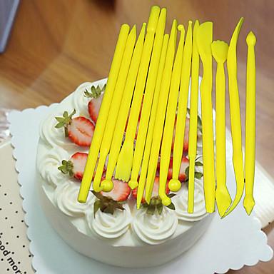 Bakeware verktøy Plast Kake / for Sandwich Dekorasjonsverktøy 1set
