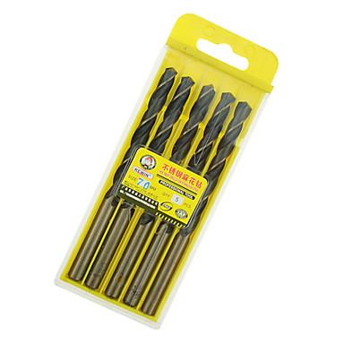 rewin® verktøy rustfritt stål koboltholdige vri drill diameter: 7,0mm med 5pcs / boks