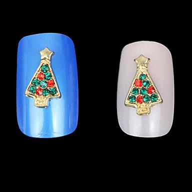 nydelig mental jul drypp legering spiker smykker