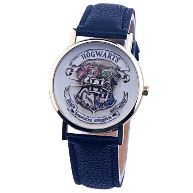 Damen Armbanduhr PU Band Charme / Modisch Schwarz / Weiß / Blau / Edelstahl / Ein Jahr / Tianqiu 377