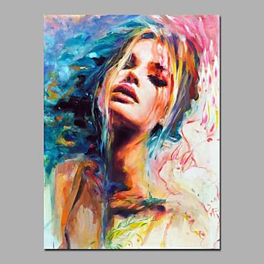 הגברת המודרנית אמנות קיר אמנות אנשים ציור מוכן לתלות באיכות טובה