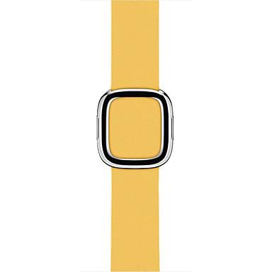 Uhrenarmband für Apple Watch Series 3 / 2 / 1 Apple Moderne Schnalle Echtes Leder Handschlaufe