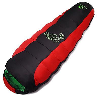 Saco de dormir Tipo Múmia Solteiro (L150 cm x C200 cm) +10 Algodão Manter Quente Á Prova de Humidade Bem Ventilado Secagem Rápida A Prova