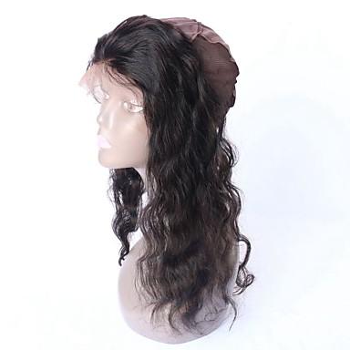 instock natürliche Haaransatz 360 Spitze frontal Perücke Kappe