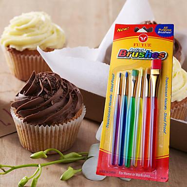 Wienerbrød Børster For Kake For Cupcales Plast