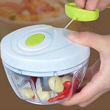 1 Stücke Knoblauch Ingwer Cutter & Slicer For Für Gemüse Für Obst Plastik Edelstahl Gute Qualität Kreative Küche Gadget