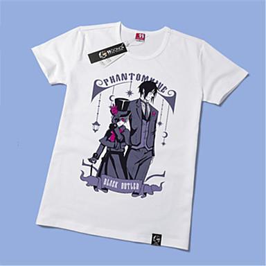 Inspiriert von Black Butler Ciel Phantomhive Anime Cosplay Kostüme Cosplay-T-Shirt Druck Kurzarm T-shirt Für Unisex