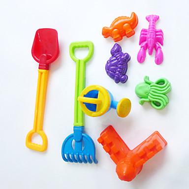 sommerleker strand leker verktøy kombinasjon (8pcs)
