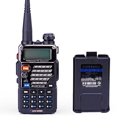 BAOFENG UV-5RB Walkie-talkie Håndholdt Digital Lader og adapter Stemmekommando Strømskifter høy/lav Type walkie-talkie CTCSS/CDCSS LCD FM