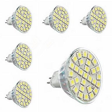 3000-3500 lm GU5.3(MR16) Lâmpadas de Foco de LED MR16 29 leds SMD 5050 Decorativa Branco Quente AC 220-240V