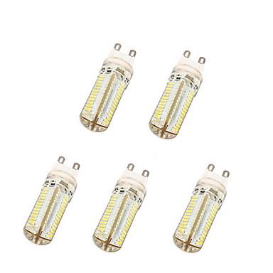 G9 LED Λάμπες Καλαμπόκι T 104 leds SMD 3014 Θερμό Λευκό Ψυχρό Λευκό 600lm 3500/6000K AC 220-240V