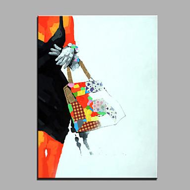 öljymaalaus moderni abstrakti puhdas käsin vetää valmis ripustaa koriste öljymaalaus naiset