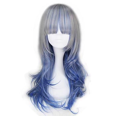 פאות לוליטה לוליטה כחול לוליטה נסיכה פאות לוליטה 55 CM פאות קוספליי חג ליל כל הקדושים פאה עבור