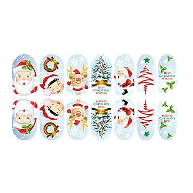 nydelig fluorescens jul spiker smykker