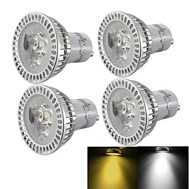 3000/6000 lm GU10 LED-spotpærer R63 3 leds Høyeffekts-LED Mulighet for demping Dekorativ Varm hvit Kjølig hvit AC 110-130V AC 220-240V AC