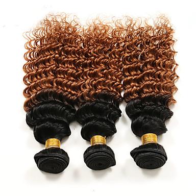 Włosy brazylijskie Curve Weave Kręcone Ludzkie włosy wyplata 3 elementy 0.31