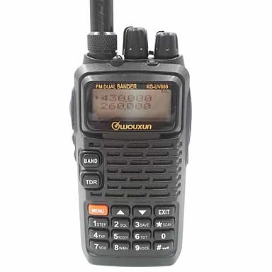 Tragbar AnalogFM Radio Notruf PC-Software programmierbar Stromsparfunktion Sprachansage VOX Rücklicht Verschlüsselung