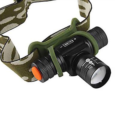 תאורה פנסי ראש / רצועות פנס LED 1200 Lumens 4 מצב Cree XM-L T6 14500 מיקוד מתכוונןמחנאות/צעידות/טיולי מערות / שימוש יומיומי / רכיבה על