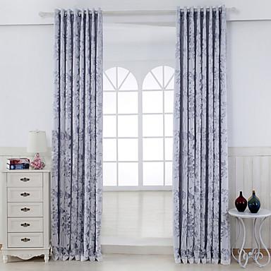 2 paneeli Window Hoito Maalaistyyliset Living Room Viskoosi materiaali verhot Drapes Kodinsisustus For Ikkuna