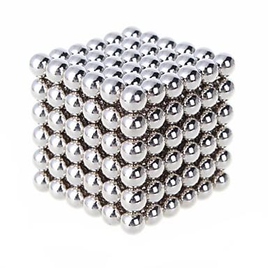 216 pcs 6mm Brinquedos Magnéticos Bolas Magnéticas / Blocos de Construir / Cubo de quebra-cabeça Imã Para Meninas Crianças / Adulto Dom