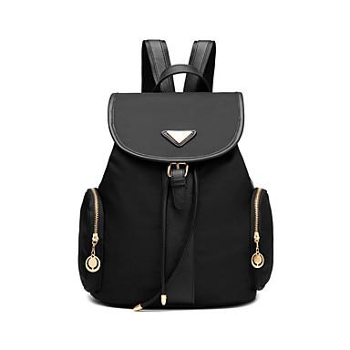 Damen Taschen PU Rucksack für Normal Ganzjährig Schwarz Purpur Königsblau