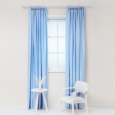 2 paneeli Maalaistyyliset / Eurooppalainen Tukeva Kuten kuvassa Living Room Polyesteri Paneeli Verhot Drapes