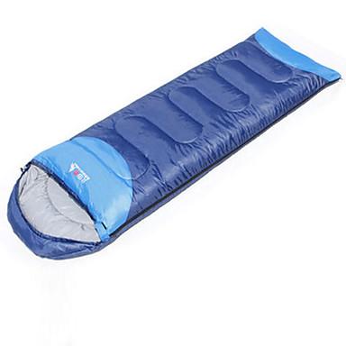 BSwolf Sovepose Rektangulær 10°C°C Hold Varm Fukt-sikker Vanntett Vindtett Støvtett 220 Vandring Camping BSwolf Singel