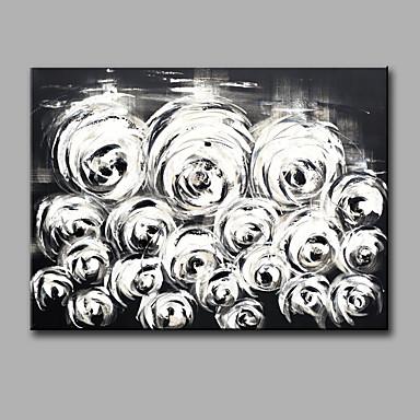 Maalattu AsetelmaModerni 1 paneeli Kanvas Hang-Painted öljymaalaus For Kodinsisustus