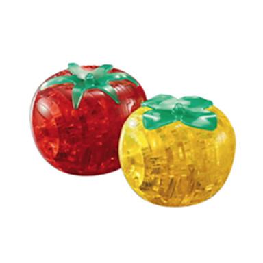 조립식 블럭 3D퍼즐 직쏘 퍼즐 크리스탈 퍼즐 장난감 토마토 3D DIY 크리스탈 아동 조각