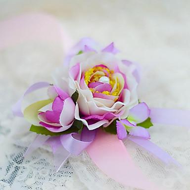 Hochzeitsblumen Armbandblume Hochzeit Party / Abend Seide Baumwolle 3 cm ca.