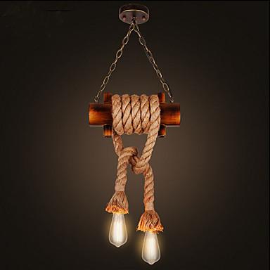 Landhaus Stil Pendelleuchten Für Wohnzimmer Schlafzimmer Esszimmer Studierzimmer/Büro Kinderzimmer Korridor Garage Glühbirne nicht