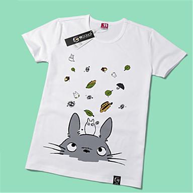 Inspiriert von Mein Nachbar Totoro Katze Anime Cosplay Kostüme Cosplay-T-Shirt Druck Kurzarm T-shirt Für Unisex
