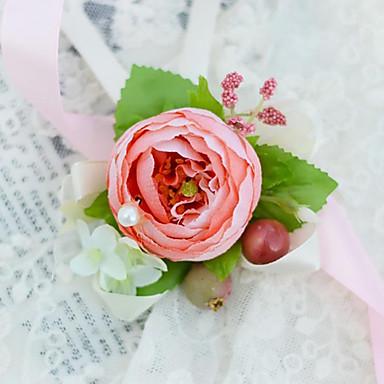 Hochzeitsblumen Armbandblume Hochzeit / Party / Abend Satin 3 cm ca.