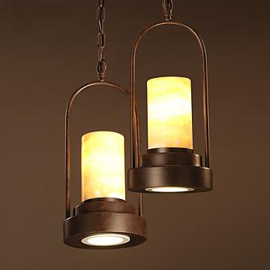 Traditionell-Klassisch Pendelleuchten Für Wohnzimmer Esszimmer Studierzimmer/Büro Eingangsraum Spielraum Garage AC 100-240V Glühbirne