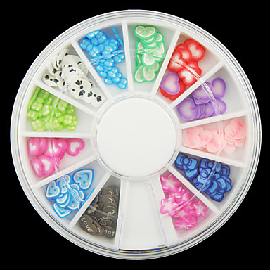 Unha Arte Decoração strass pérolas maquiagem Cosméticos Designs para Manicure