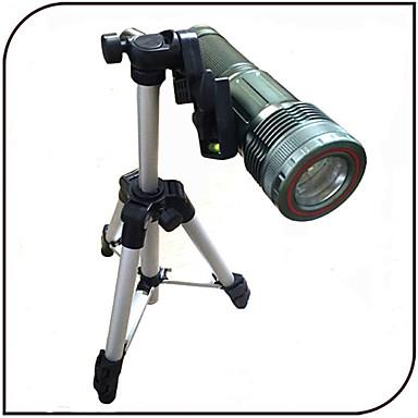 YGFL-008A LED taskulamput LED 1000 lm 6 Tila - Säädettävä fokus Ladattava Vedenkestävä Zoomable Akulla ja laturilla