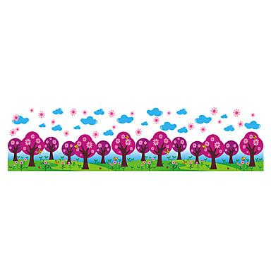 Dyr / Botanisk / Tegneserie / Romantik / Mote / Blomster / Højtid / Landskap / Former / fantasi Wall Stickers Fly vægklistermærker,PVC