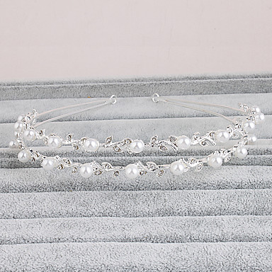 Rhinestone headbands headpiece bryllupsfesten elegant feminin stil