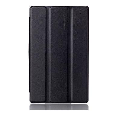 CSE tampa do suporte imã para guia Lenovo 3 7.0 710 Tab3 essencial 710f caixa protetora capa de couro pu