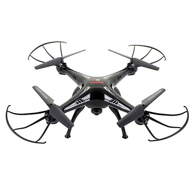 cheap RC Drone Quadcopters & Multi-Rotors-RC Drone SYMA X5SC 4CH 6 Axis 2.4G With HD Camera 2.0MP 720P RC Quadcopter One Key To Auto-Return / Headless Mode / With Camera RC Quadcopter / Remote Controller / Transmmitter / Camera
