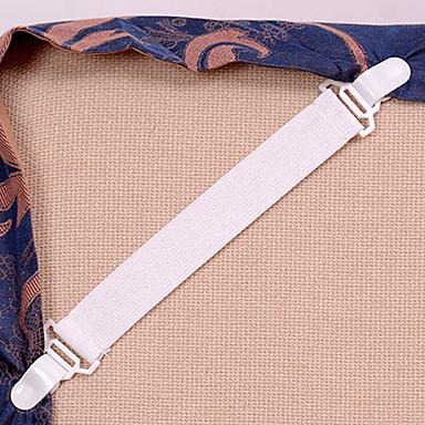 4 kpl / setti lakanat patja huovat elastiset tarttujat kiinnitä lakanat solki pöytäliina sopii