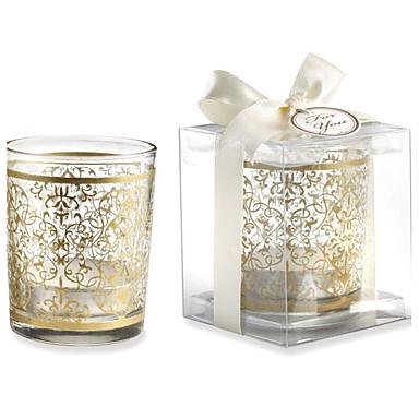 Vegas-teema / Aasialainen teema / Klassinen teema Candle suosii - 1 pcs Candle Holders Lahjapaketti Kevät / Kesä / Syksy