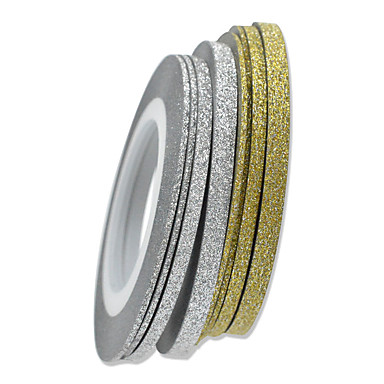 1 Nagel-Kunst-Aufkleber Abstrakt lieblich Hochzeit Make-up kosmetische Nagelkunst Design