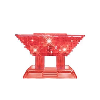 Kocke za slaganje 3D puzzle Puzzle Kristalne puzzle Igračke za kućne ljubimce Kineska arhitektura 3D Uradi sam Kristal Djeca Komadi