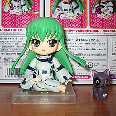 Anime Toimintahahmot Innoittamana Koodi Gease Cosplay PVC 10 CM Malli lelut Doll Toy