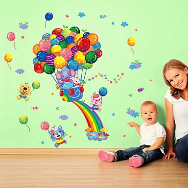 Mode Cartoon Design Wand-Sticker Flugzeug-Wand Sticker Dekorative Wand Sticker, Vinyl Haus Dekoration Wandtattoo Wand