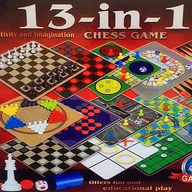 oktatási játékok, 13 az 1-ben sakkjátszmában