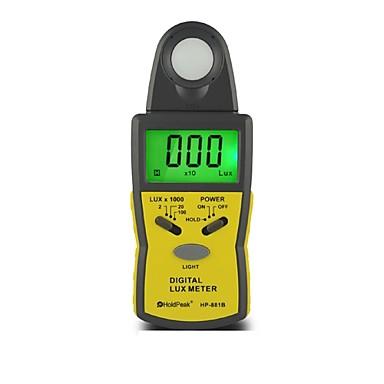 100klux 디지털 핸드 헬드 빛의 강도 미터 럭스 미터 holdpeak의 HP-881b
