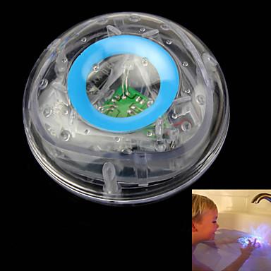 LED-belysning Baller Lysende leker Bath Light Vannleke Leketøy Lighting PVC Barne 1 Deler